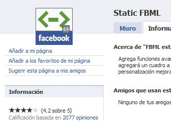 Static FBML