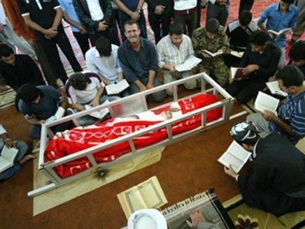 Funeral de Sardasht Osman, un periodista kurdo que fue asesinado por denunciar corrupción. Foto de Alarabiya.net