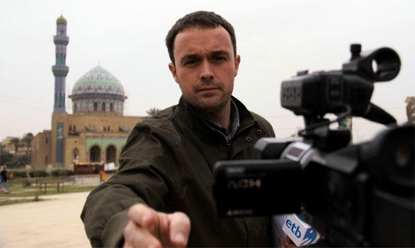 Mikel Ayestarán en Bagdad  / Foto: http://www.unav.es