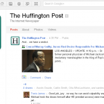 The Huffington Post ya está en Google+