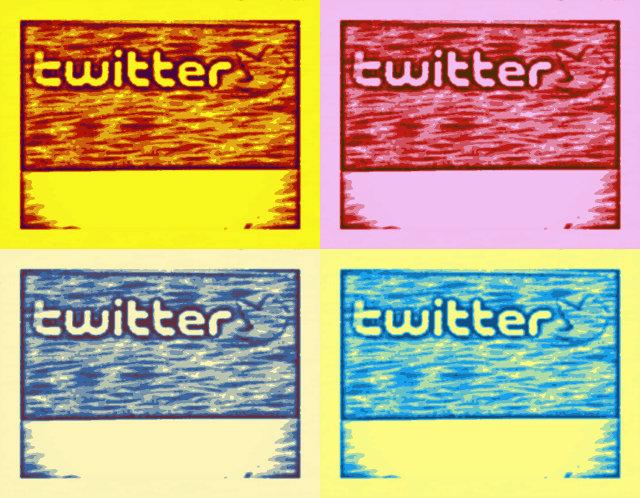 Twitter pantalla