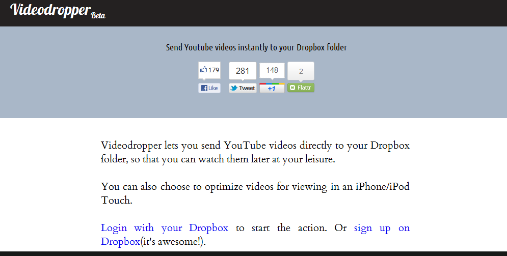 http://videodropper.ep.io/