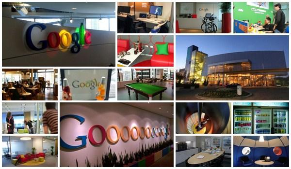 Oficinas de Google en el mundo / lineupblog.com
