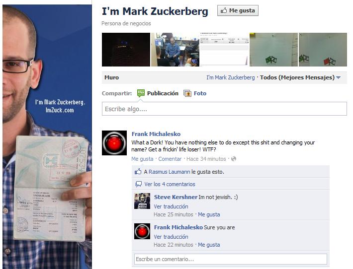 http://www.facebook.com/iMarkZuckerberg