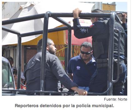 Ciudad Juárez prensa