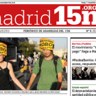Nace Madrid15M, un periódico sin director ni editorial