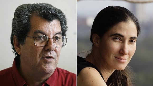 Oswaldo Payá y Yoani Sánchez / AFP / REUTERS