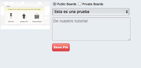 Pinterest privado