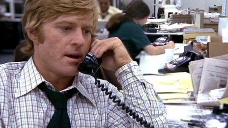 Redford en Todos los hombres del presidente / Foto: BBC