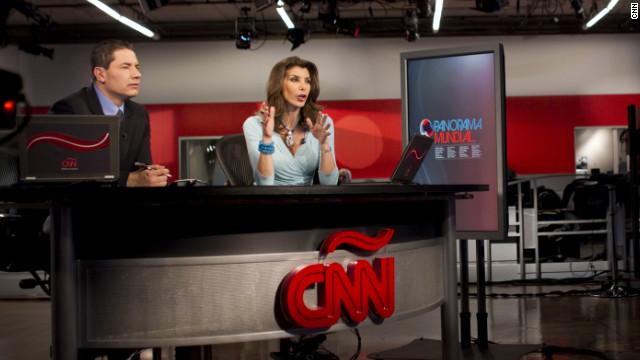 Fernando del Rincón y Patricia Janiot en Panorama Mundial.