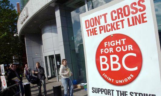 BBC strike