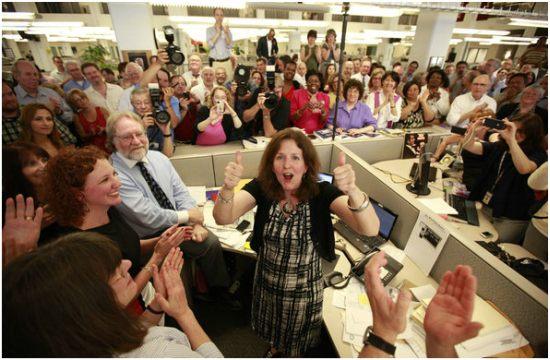 Foto: David Swanson/Inquirer (El diario Philadelphia Inquirer está en crisis, pero acaba de ganar un Pulitzer por hacer periodismo)