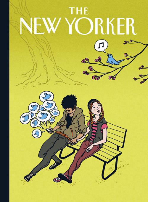 15 portadas de revistas dedicadas a Facebook y Twitter