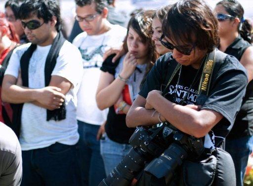 Periodistas de Ciudad Juárez  FOTO: hispano.com