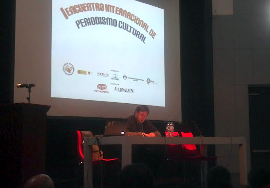Hernán Casciari en el Encuentro Internacional de Periodistas Culturales
