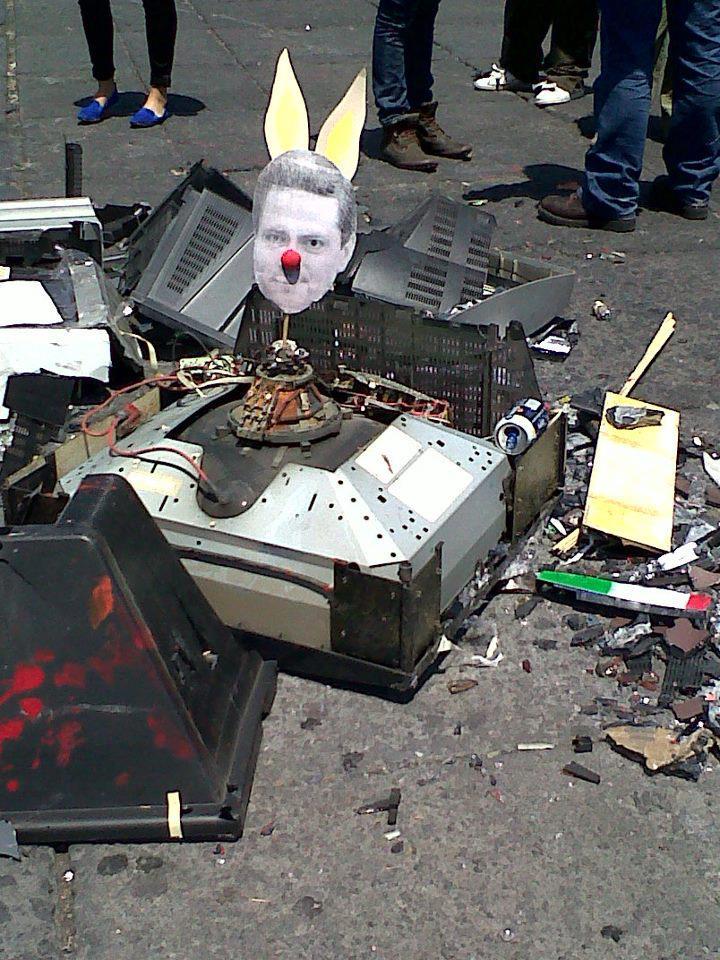PEÑA NIETO MEXICO PROTESTA