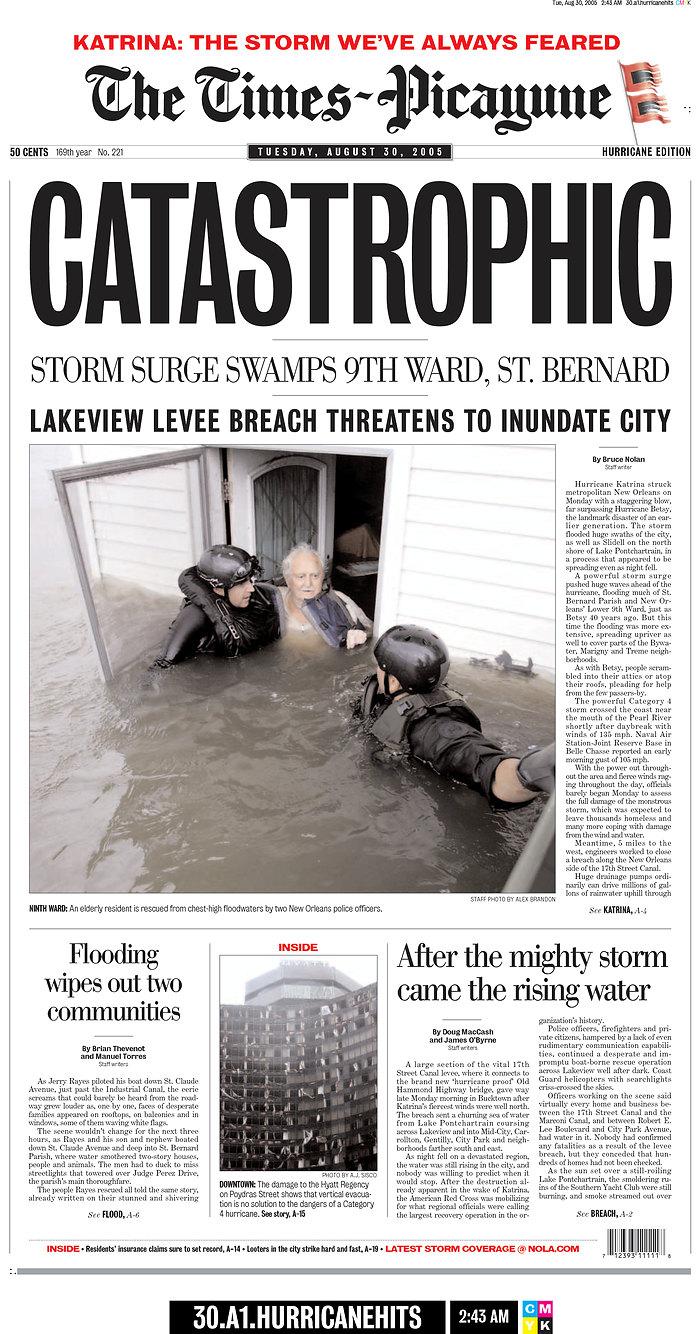 Times Picayune Katrina