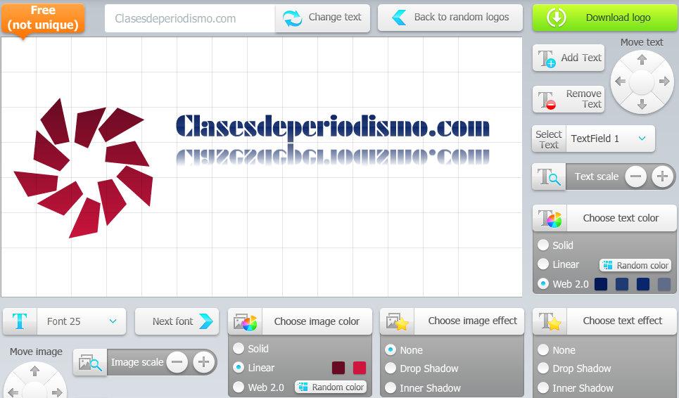 Crea logos para tu peque a empresa en segundos con for Empresa logos