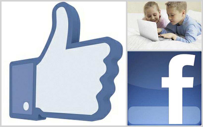 facebook like niños
