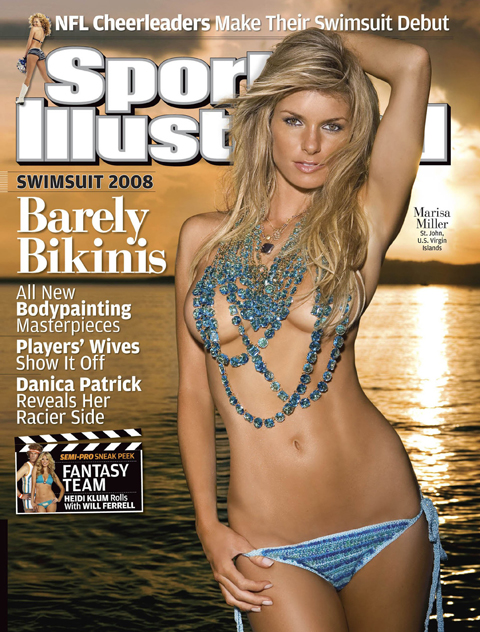 SPORTS ILLUSTRATED 2008 COVER