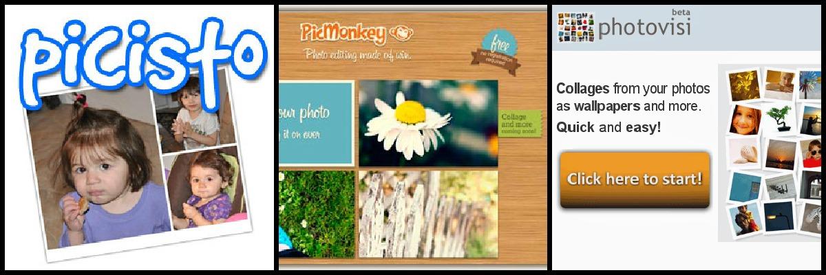 Sitios para hacer collages con fotos