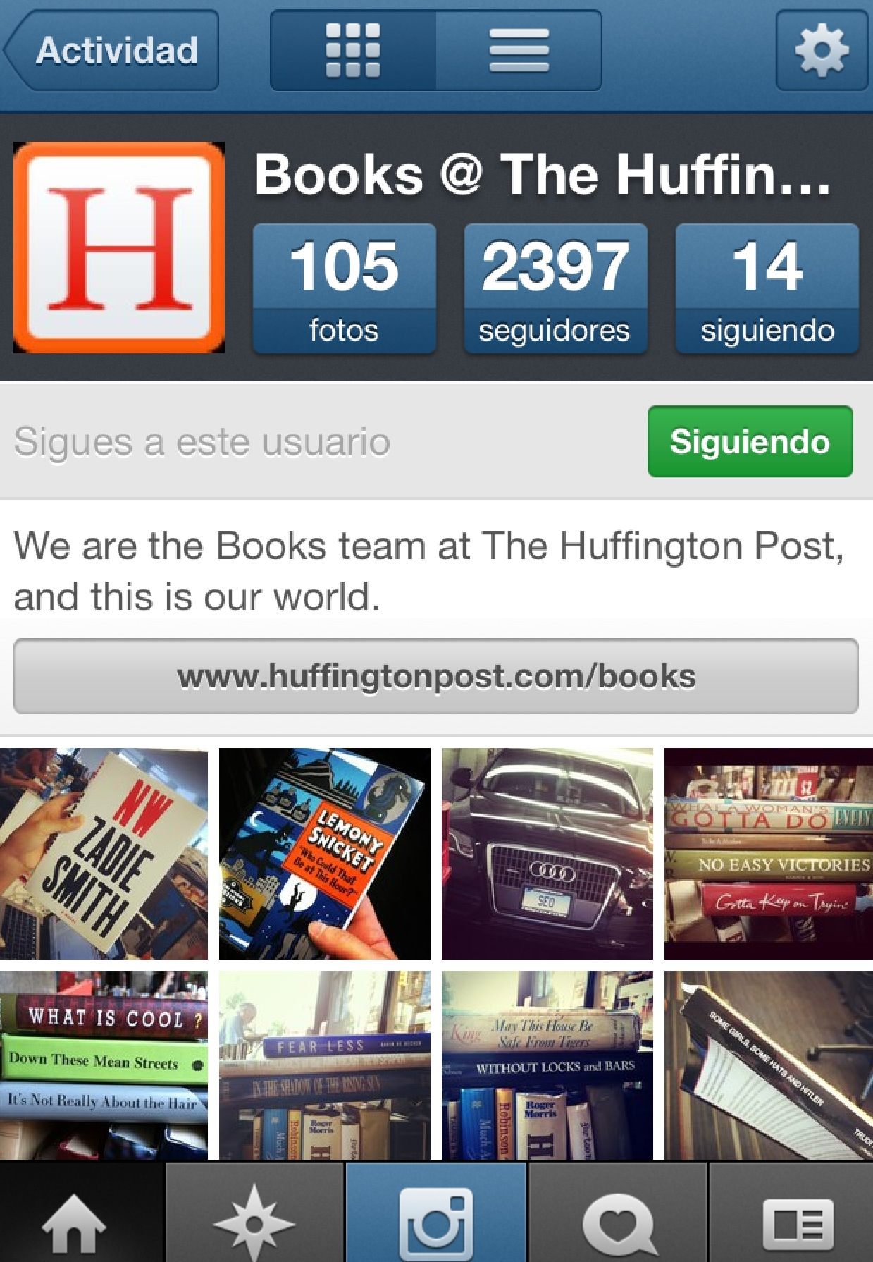BOOK INSTAGRAM