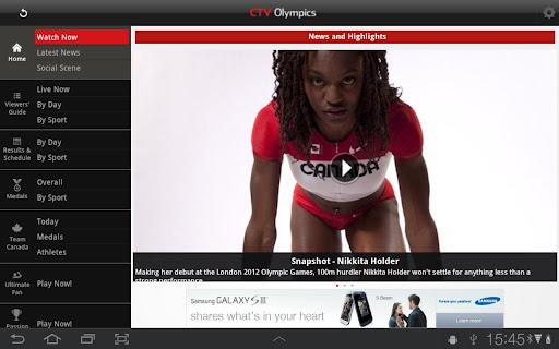 ctv olimpics