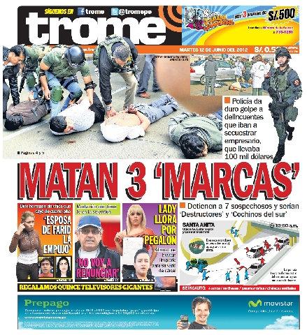 Una Mirada A Las Portadas De 20 Diarios Populares Clases De Periodismo