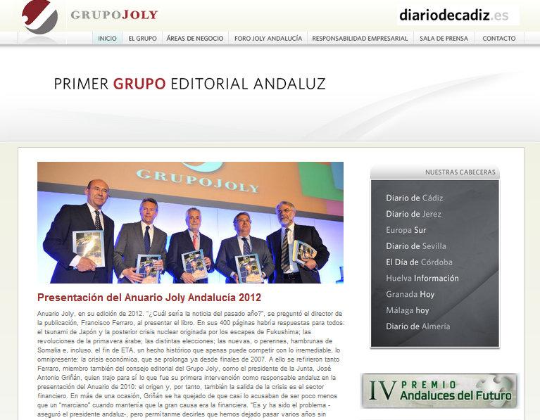 Grupo Joly, una de las empresas editoras acusadas por la FAPE