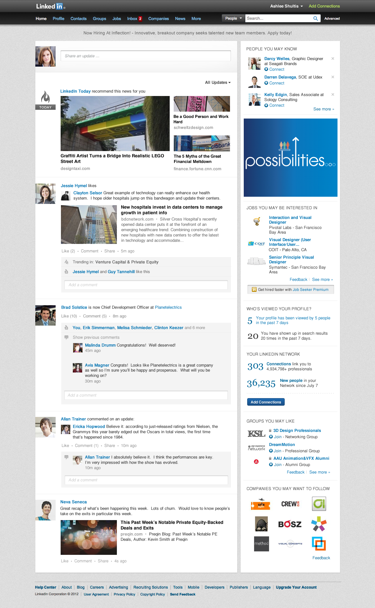 linkedin-presenta-página-inicio-simple