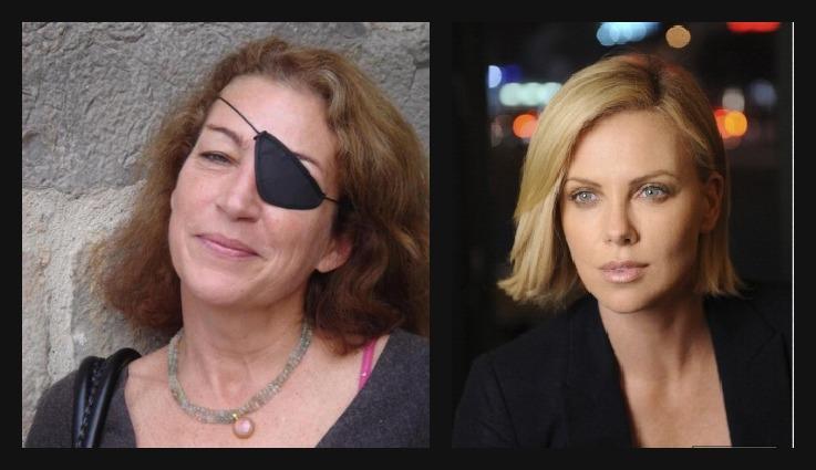 Fotos: Páginas web de Marie Colvin / Charlize Theron