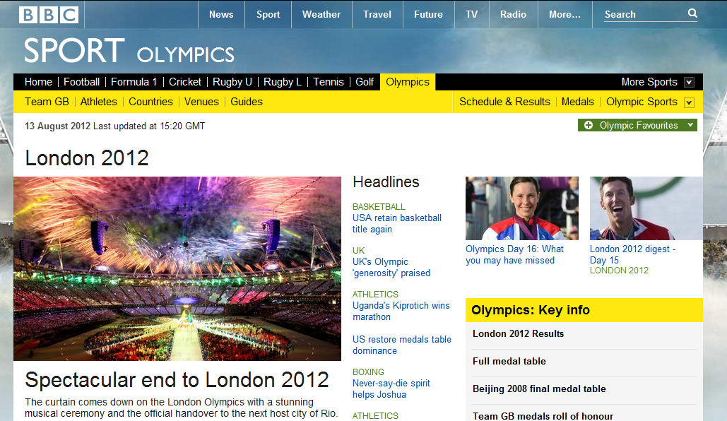 BBC Olimpiadas