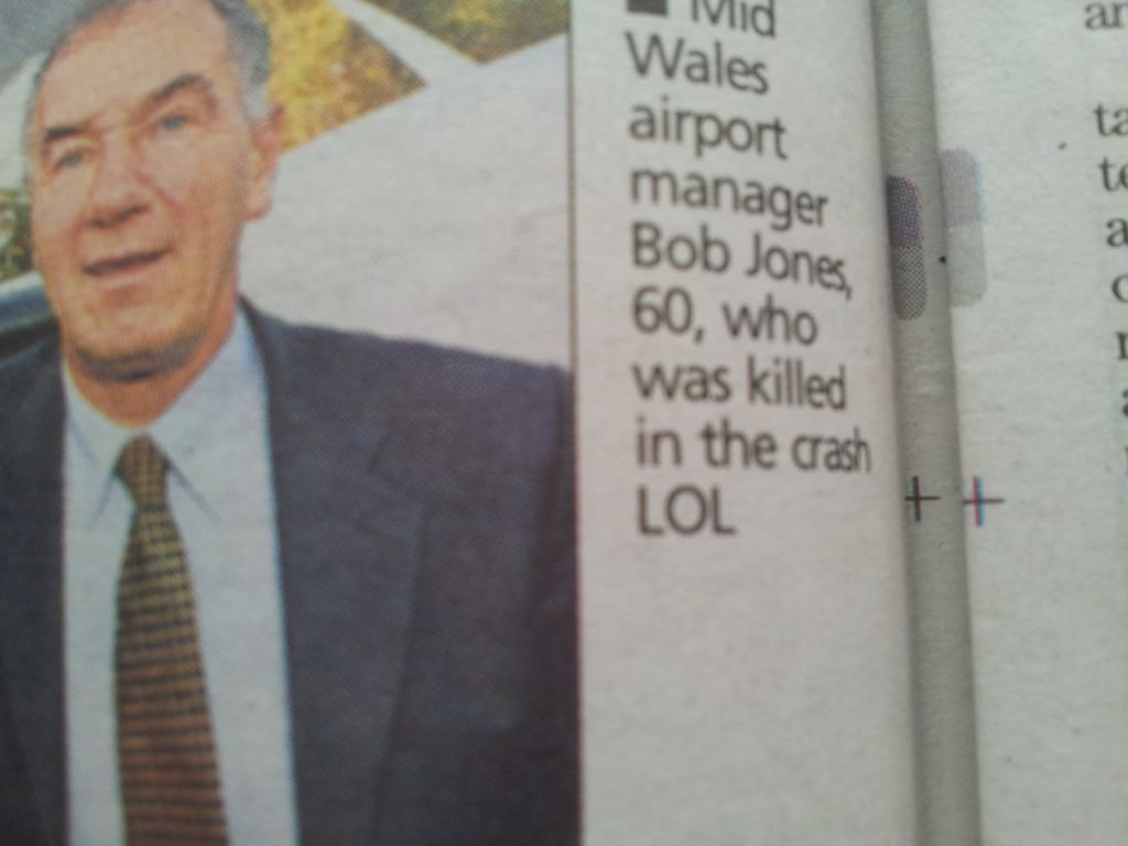 Error en The Western Mail