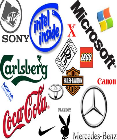 Logos de marcas mundiales