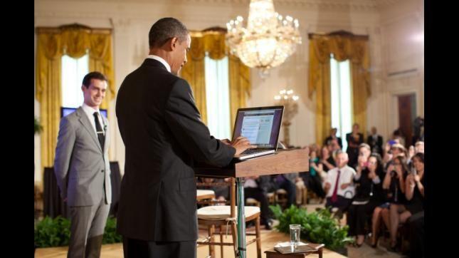 Foto oficial de la Casa Blanca