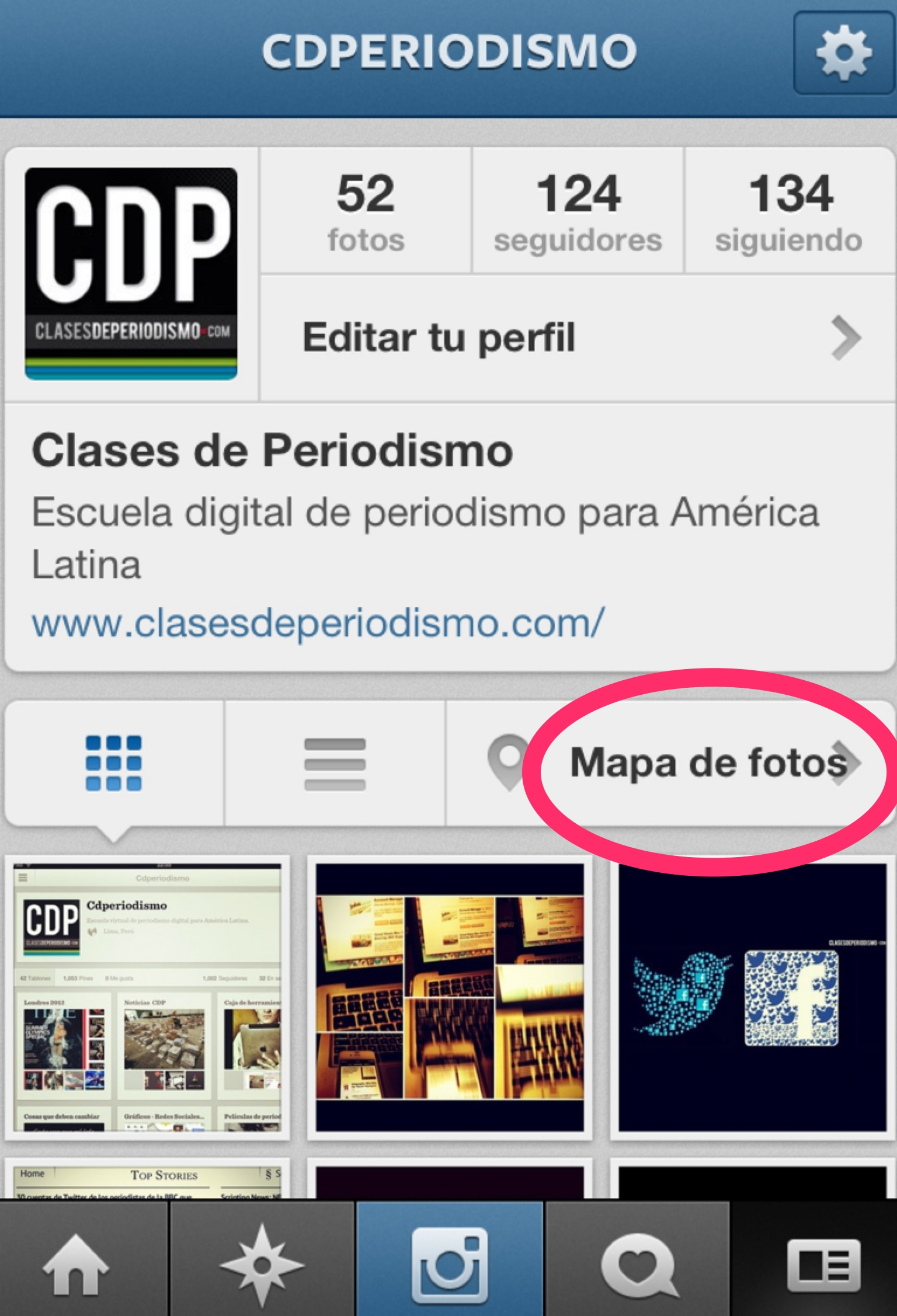 Instagram cdperiodismo