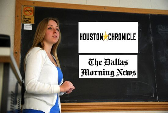 Foto: The Daily Iowan/Houston Chronicle/The Dallas Morning News