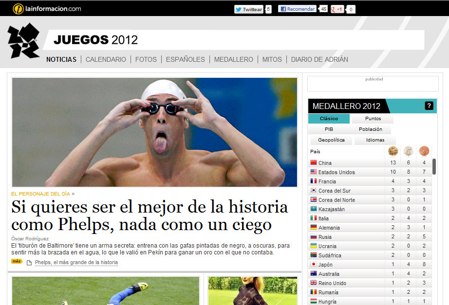 lainformacion olimpiadas