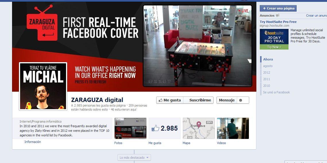 Facebook zaraguza