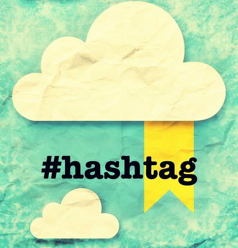 hashtags de Twitter