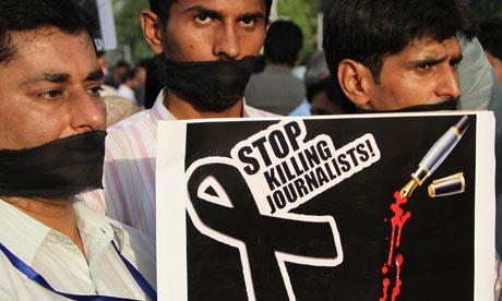Periodistas en peligro