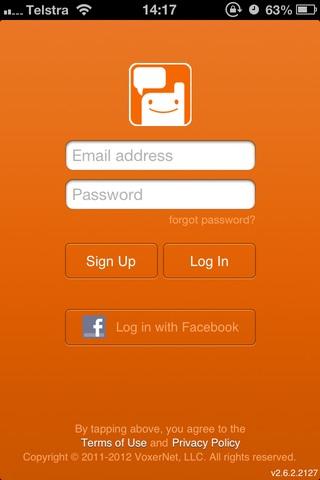 Voxer, alternativa de mensajería por voz para el iPhone o