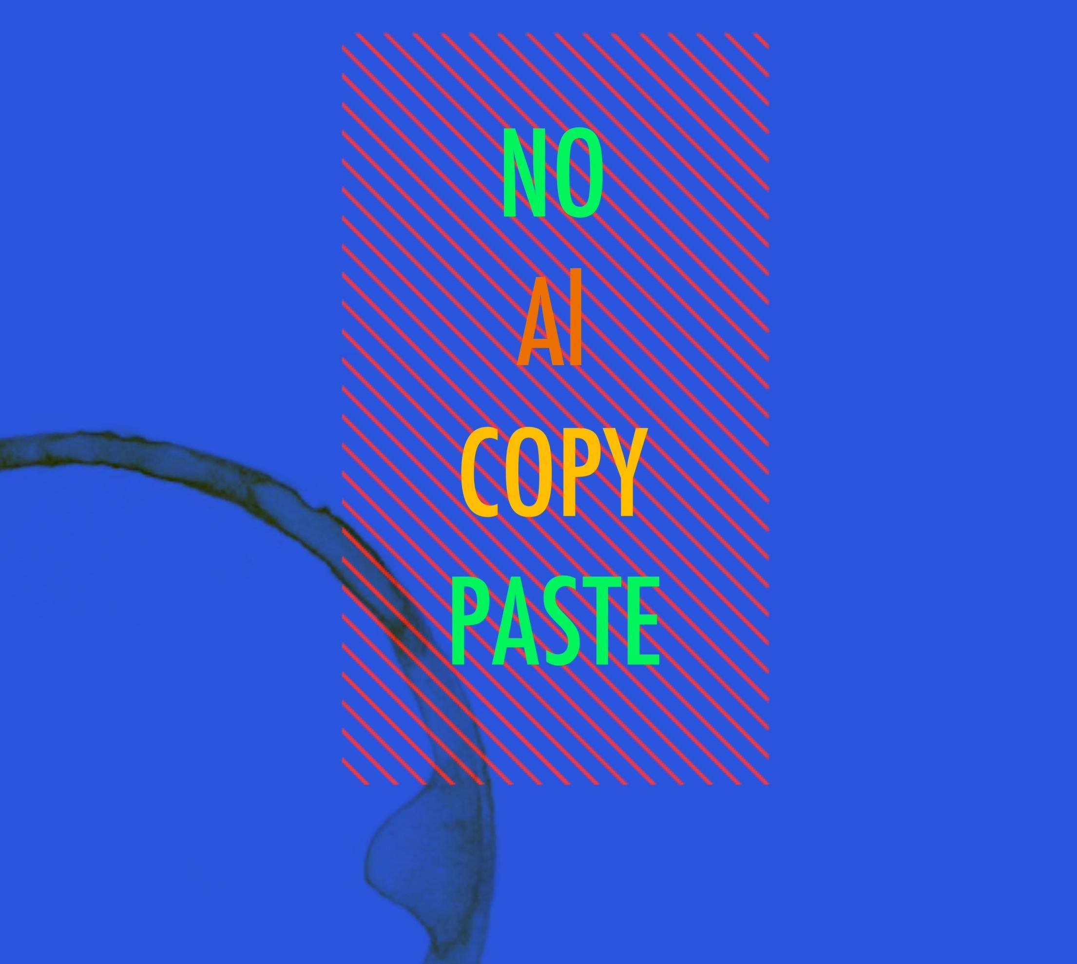 no al copy paste