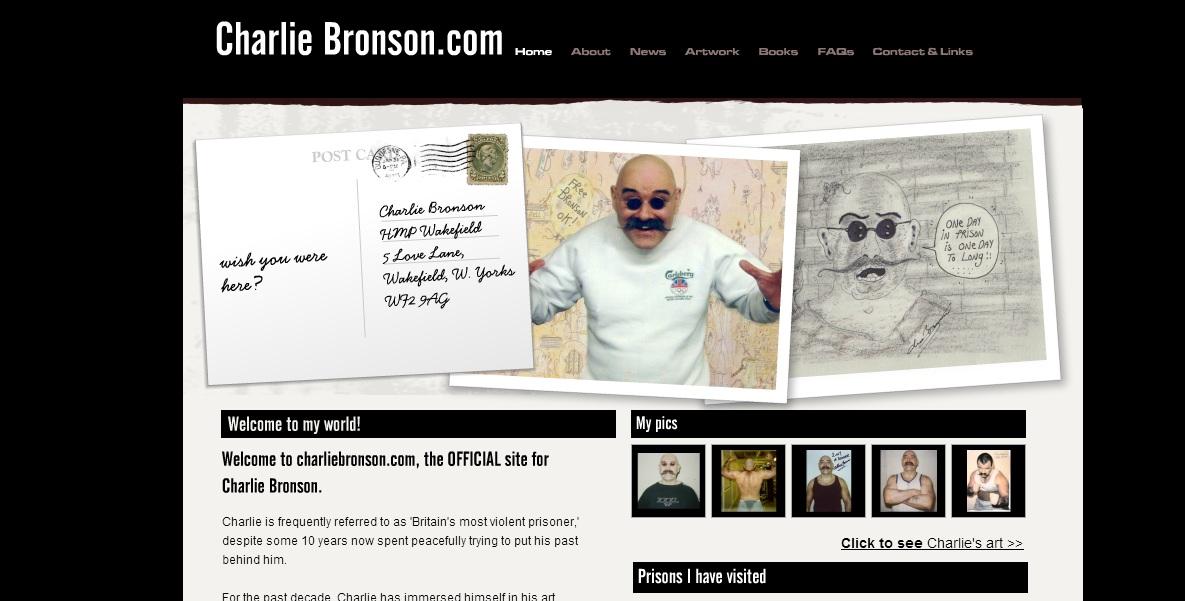 Charlie Bronson-Inglaterra