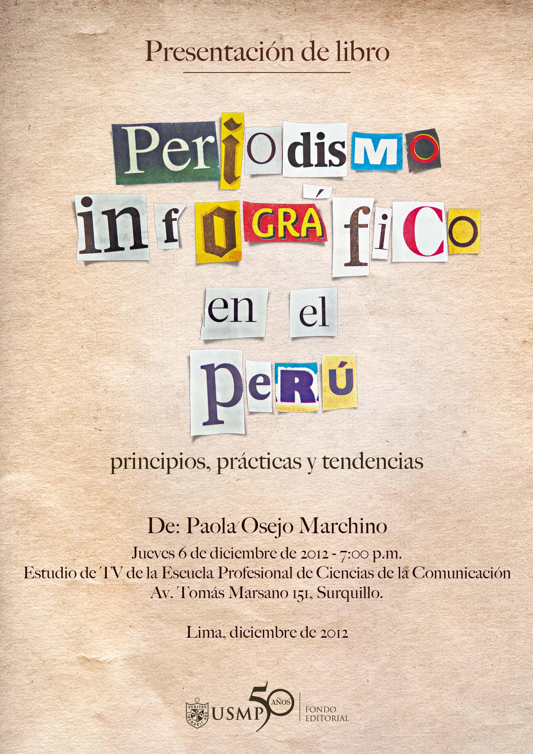 INVITACION - PRESENTACION DE LIBRO PERIODISMO INFOGRAFICO EN EL PERU (para web)