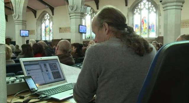 Twiter en la Iglesia