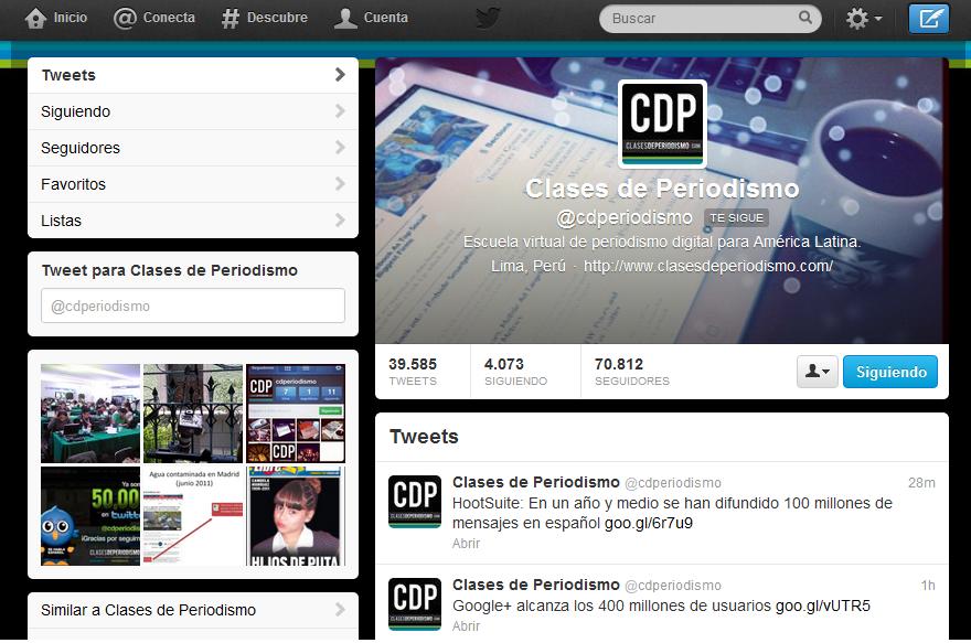 TwitterCDP