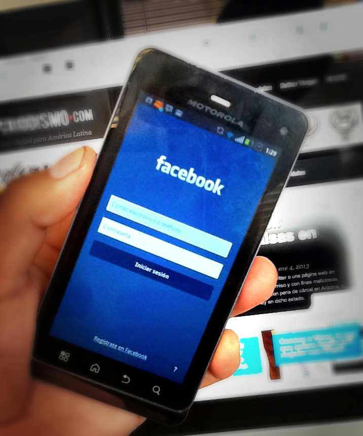 Facebook en móviles
