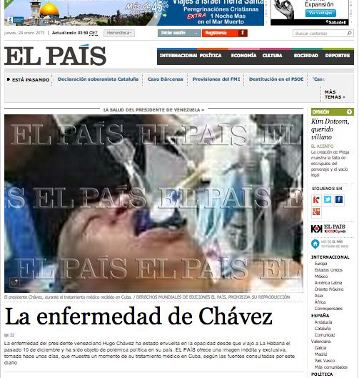 CHAVEZ EL PAIS