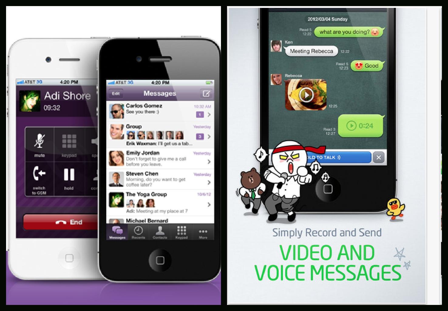 Competidores de Whatsapp